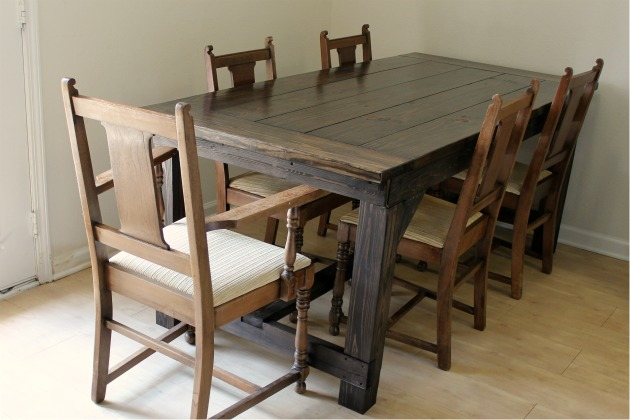 Farmhouse Dining Room Table Plans Plans Free Download